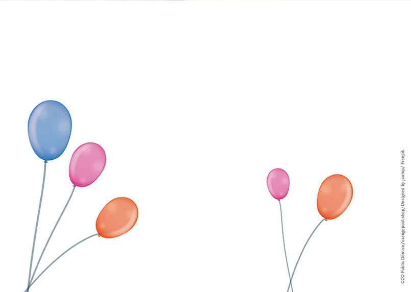 Geschenkgutschein Happy Birthday Kostenlose Vorlage Zum Download
